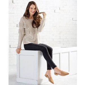 Mud Pie Beckham Fringe Sweater